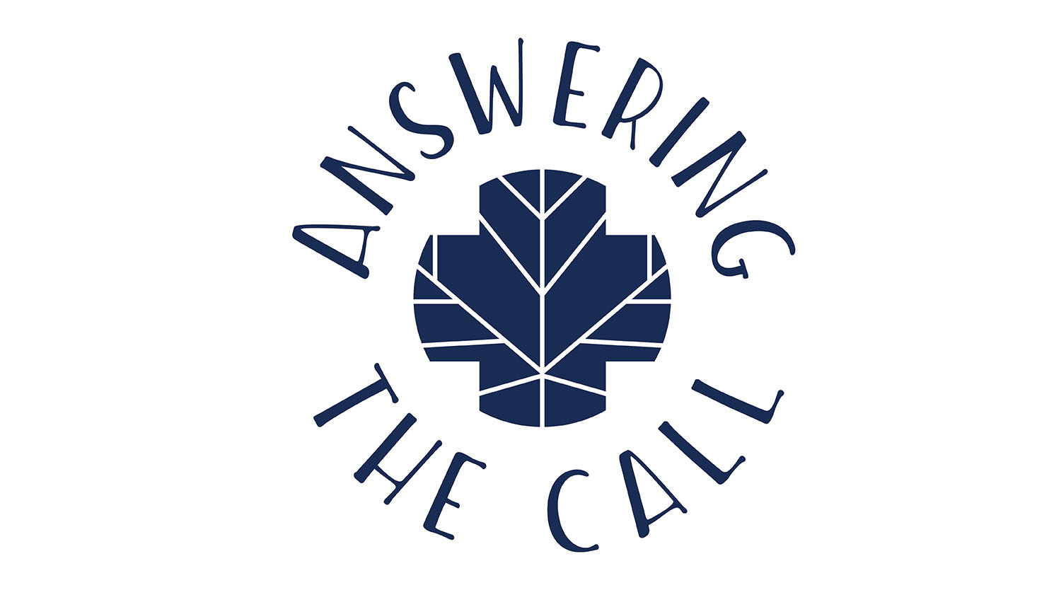 answering the call campaign logo
