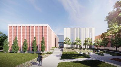 rendering of Concordia's new music building