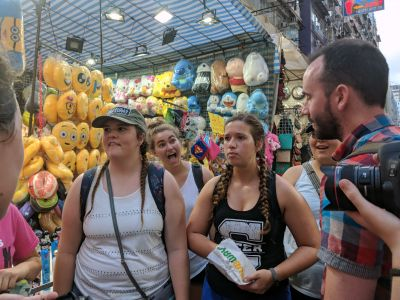 Students tour Hong Kong